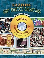 Dazzling Art Deco Designs CD-ROM and Book (Dover Electronic Clip Art)