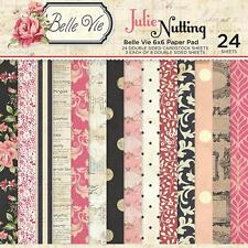 Photo Play Paper - Julie Nutting Belle Vie - 6 x 6 Paper Pad
