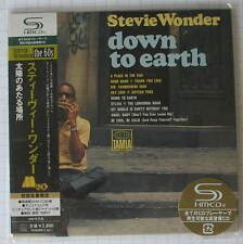 STEVIE WONDER - Down To Earth JAPAN SHM MINI LP CD OBI NEU UICY-93869
