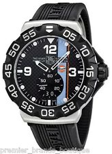 NEW TAG HEUER MENS F1 MONACO GULF GRANDE DATE SWISS MADE WATCH WAH1013.FT6026