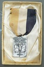RARE ANTIQUE 1949 STERLING NEW YORK DEPT OF PARKS GOLF MEDAL DAILY MIRROR