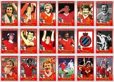 Liverpool European Cup winners 1978 football trading cards