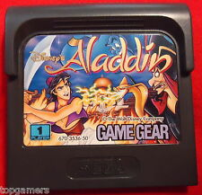 Disney 's Aladdin-Walt Disney-Sega Game Gear GG