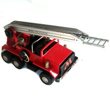 "1960's -70s Vintage 12"" long Metal MECCANO MOGUL FIRE ENGINE TRUCK  great shape"