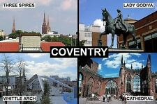 SOUVENIR FRIDGE MAGNET of COVENTRY ENGLAND