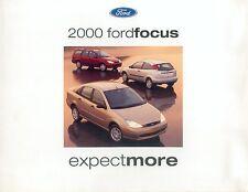 FORD Focus prospetto USA 2000 brochure auto automobili auto prospetto opuscolo America