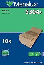 Menalux 6304P 10 sacchi papier staubsauger Imetec Smarty 1400 84801 84802 8292