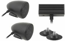 Cycle Sounds - 1102-0621 - Sport Bike Audio System with 2in Bullet Speakers~