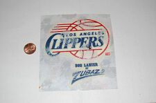 "Los Angeles Clippers 4"" Lextra Logo Patch Basketball Heat Transfer Only"