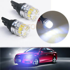 2X White T10 5050 5 SMD LED Car Vehicle Side Tail Lights Bulbs Lamp New