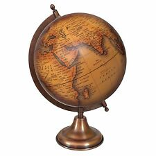 Rotating Globe World Geography Earth Big Decorative  Ocean Office Table De 7779