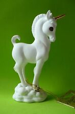VINTAGE FINE BONE CHINA UNICORN FIGURINE 22 KT. TRIM GEORGE GOOD EX.COND.