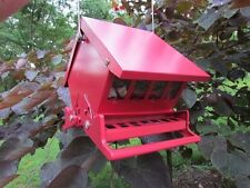 Absolute II Mini Squirrel Proof Bird Feeders Red Heritage Farms 7458