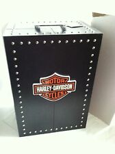 "Franklin Mint Harley Davidson TRUNK Wardrobe Case for 16"" Doll & Ensembles"