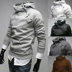 Fashion Men Casual Slim Pullover Hoodie Hooded Jackets Coat Sweater Outwear Tops