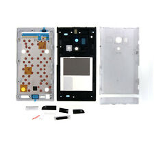 HOT Full Housing Battery Cap Back Cover + Frame For Sony Xperia acro S LT26w WHI