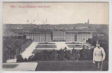 AK Wien XIII, Schönbrunn, Kaiser Franz Joseph I, 1910