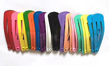 24 pcs 30 mm Hair snap clips for toddler baby assorted color