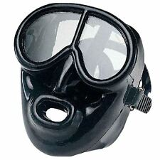 IST -  FULL FACE Black Silicone Scuba DIVING MASK for COLD/ Grimey Water