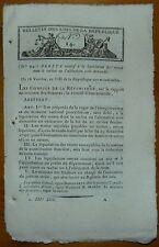 Bulletin des Lois n° 14 /  Impots, dépenses des préfectures  / 1800