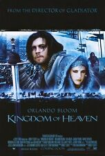 KINGDOM OF HEAVEN Movie POSTER 27x40 C Orlando Bloom Liam Neeson Jeremy Irons