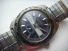Vintage Chesterfield Skin Diver World Time Mens Watch