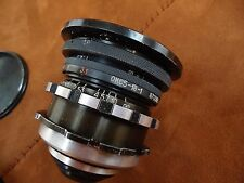 LOMO 18mm F/2.5 OKC5-18-1 konvas mount USSR Soviet 35mm Movie LENS Arri/Red adap