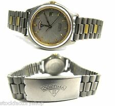 "Vintage Certina ""DS""All Titanium Sapphire Crystal Swiss Made Women's Watch-Works"
