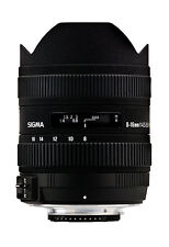 Sigma 8-16mm f/4.5-5.6 DC HSM FLD AF Lens for Canon DSLR. U.S Authorized Dealer