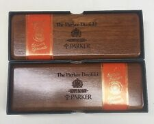 Parker Centennial Orange Duofold Set Fountain Pen FP and Pencil