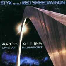 Styx and REO Speedwagon - Arch Allies, 2x CD, Rock