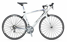 2013 Giant Defy Comp 3 Mens XL White/Black/Blue Road Bike