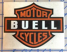 Buell Shield Vinyl Decals. One pair. Or Choose Your Color
