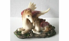 UNICORNS  With Sparkle on Wings FIGURINE - Fantasy - NEW !