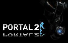 "020 Portal 2 - First Person Puzzle Platform Video Game 22""x14"" Poster"