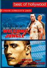 "WELCOME TO THE JUNGLE # SPIEL AUF BEWÄHRUNG ""The Rock"" (2 DVD-FILME)*NEU*OVP"