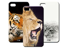 IPM CUSTODIA COVER CASE ANIMALI LEONE LEOPARDO TIGRE PER iPHONE 5 S 5S