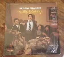 NM Sergio Franchi – Wine & Song (1968) RCA Victor ‎– LSP-4018  Vinyl, LP, Stereo