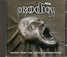 CD ALBUM 13 TITRES--THE PRODIGY--MUSIC FOR THE JILTED GENERATION--1994