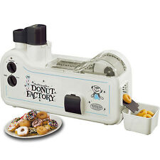 MINI DONUT MAKER FACTORY NOSTALGIA ELECTRICS AUTOMATIC DOUGHNUT MACHINE MDF-200