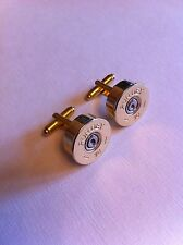 Purdey shotgun shell 20 gauge cartridge cap cufflinks clay and game shooting!!!!