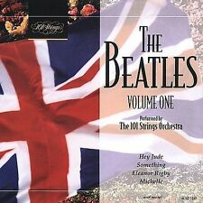 FREE US SH (int'l sh=$0-$3) NEW CD 101 Strings Orchestra: The Beatles: Volume On