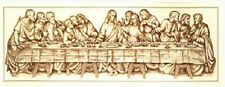 The Last Supper - Sepia - Vervaco Cross Stitch Kit w/14 Ct. Ivory Aida New