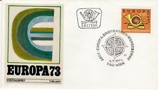 First day cover, Austria, Europa CEPT, Scott #944, Folio-print cachet, 1973