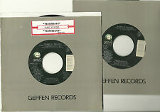 GUNS N' ROSES, YESTERDAYS  b/w (live) ORIGINAL 45 rpm record, 1991, MINT-!