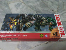 Transformers AOE Movie 4 Autobots United 5 pack Platinum Edition Hasbro MISB