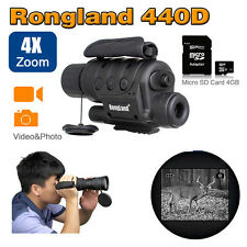 "1.5"" 4x40 Digital Infrared IR Night Vision Scope Monocular Video Photo Recorder"
