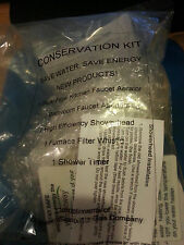 WATER CONSERVATION KIT 6 PIECES: Bathroom & Kitchen Faucet Aerators Shower timer