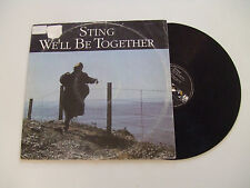 "Sting ‎– We'll Be Together-Disco 12"" MAXI SINGLE Vinile GERMANIA 1987 Pop Rock"