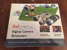 4 in 1  Digital Camera /  Binocular  / Video / Web Cam ~ Mini Gadgets Model LX10